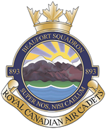 Beaufort 893 Air Cadets Logo